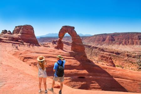 moab hiking