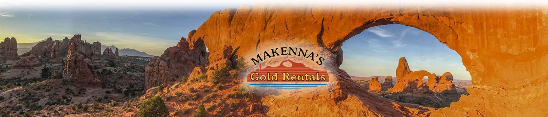 Makenna's Gold Moab Rentals